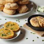 Rezept: Süßkartoffel Brötchen (Bolo de Caco) aus Madeira