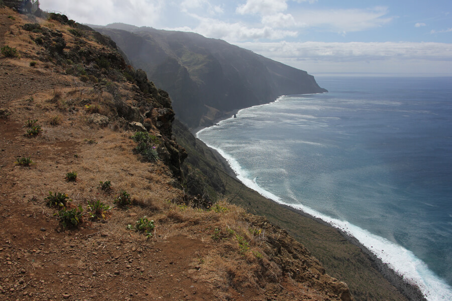 Aussicht von der Ponta do Pargo.