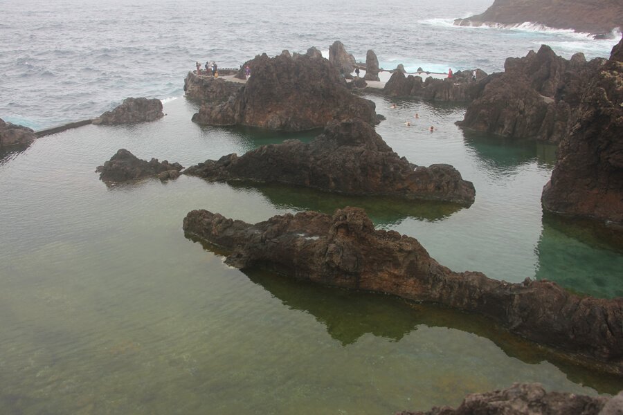 Felsenpools in Porto Moniz