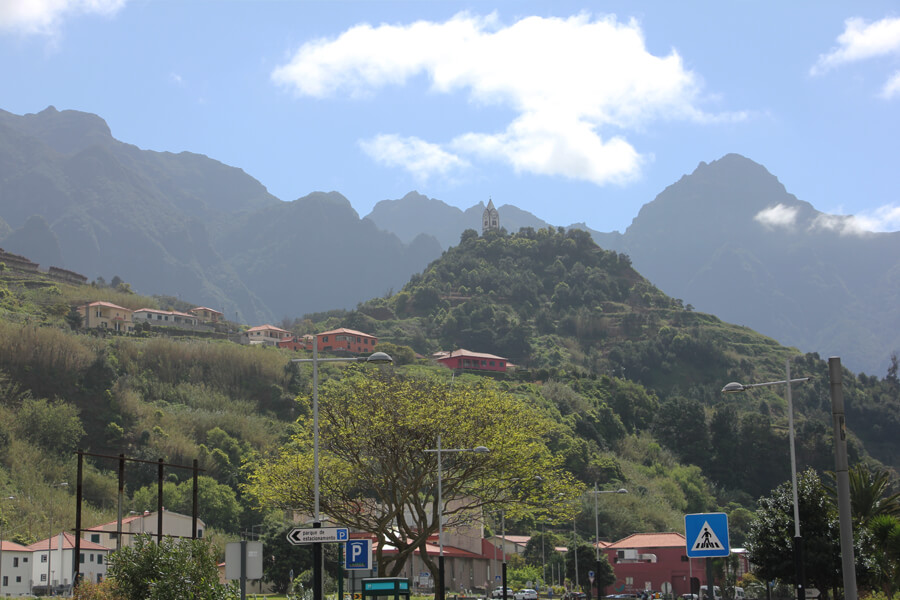 Berge in Sao Vicente.
