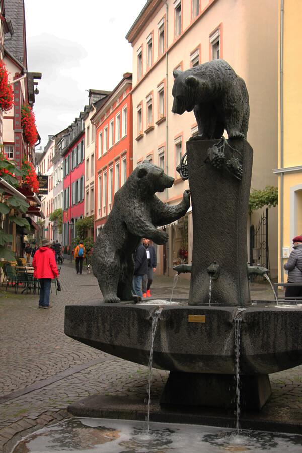 Bärenbrunnen in Bernkastel-Kues