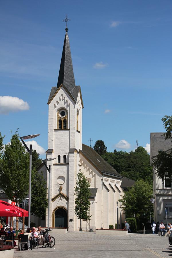 Kirche am Marktplatz in Wipperfürth