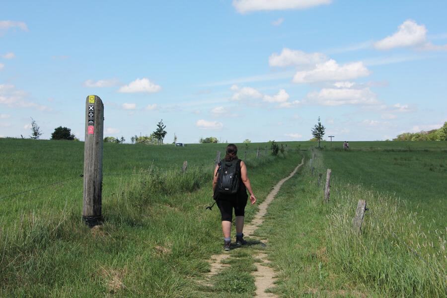 Wandern in Wipperfürth, über Feldwege