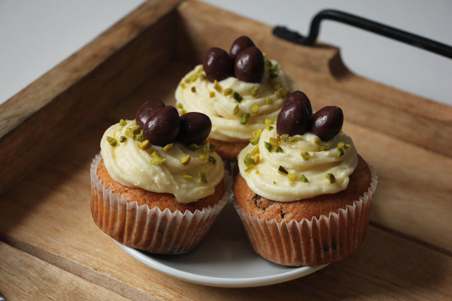 vegane Oster-Cupcakes