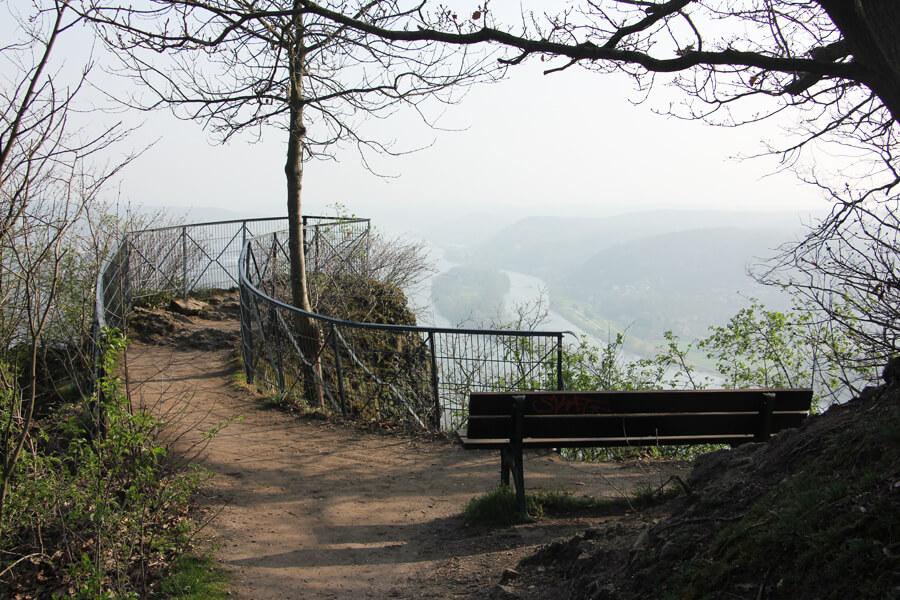 Aussichtspunkt am Drachenfels