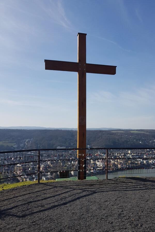 Gipfelkreuz an der Erpeler Ley