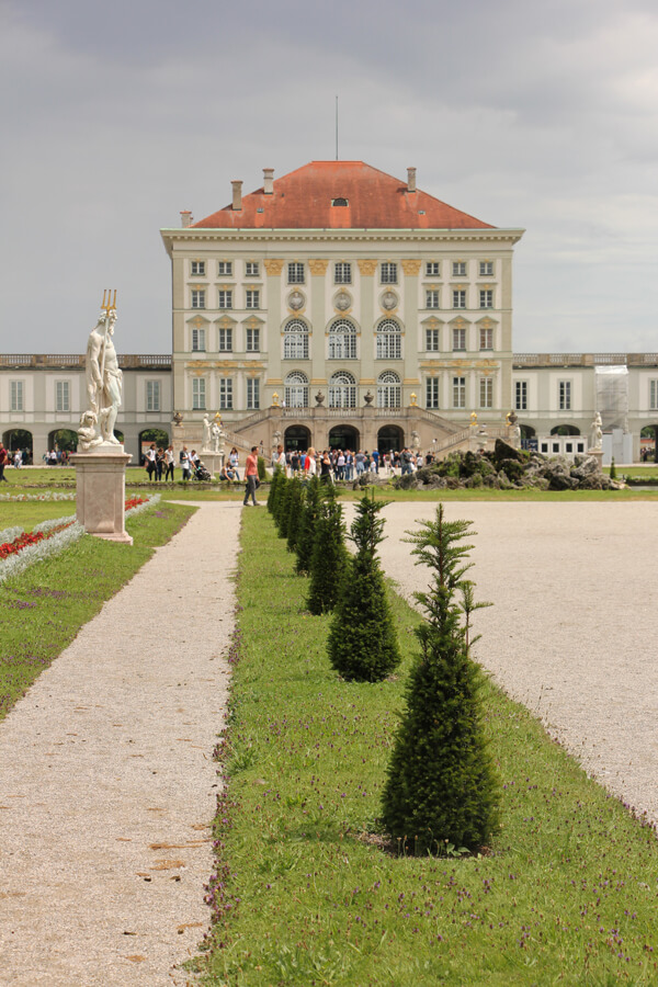 Parkanlage hinter Schloss Nymphenburg