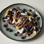 Rezept: vegane Blaubeer Pancakes