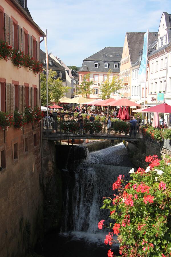 Top Sehenswürdigkeiten in Saarburg: der Wasserfall